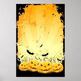 Halloween ackground print