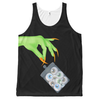 Halloween All-Over Printed Unisex Tank All-Over Print Tank Top
