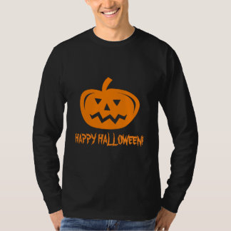 Halloween apparel for men   Pumpkin head carving T-Shirt