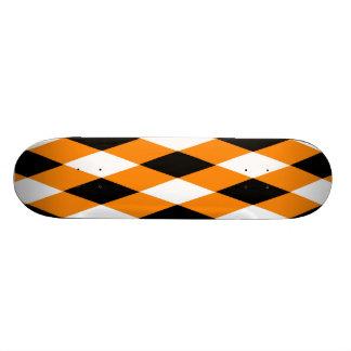 Halloween Argyle Skateboard