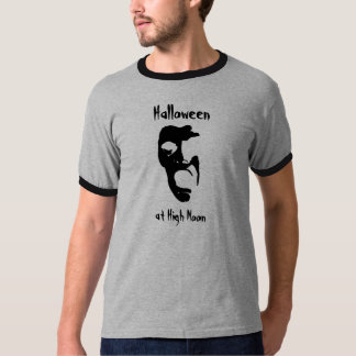 Halloween at High Noon Screaming Head T-Shirt