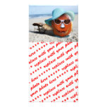 Halloween At The Beach Picture Card