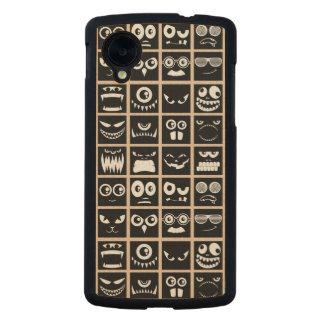 Halloween Avatars - Black Carved® Maple Nexus 5 Case