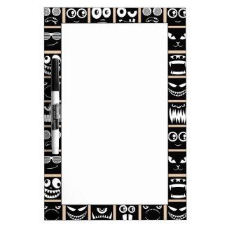 Halloween Avatars - Black Dry Erase Board