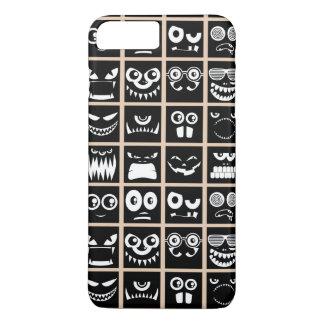 Halloween Avatars - Black iPhone 8 Plus/7 Plus Case