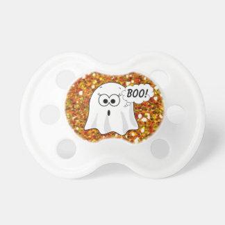 Halloween Baby Ghost Boo Pumpkin Baby Pacifier