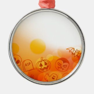 Halloween Background Christmas Ornament