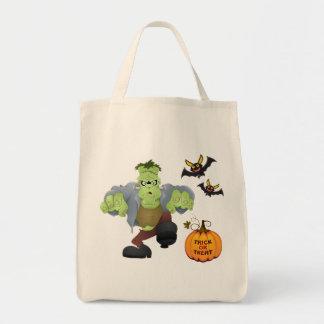 Halloween Bag-Frankenstein Tote Bag