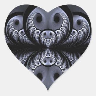 Halloween ball heart sticker