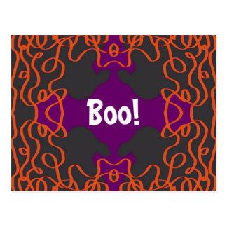 Halloween Bandanna postcard