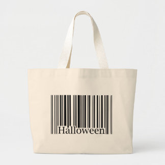Halloween Barcode Jumbo Tote Bag