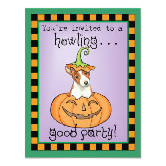 Halloween Basenji Card