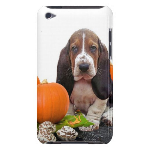 Halloween Basset Hound iPod Touch Cases