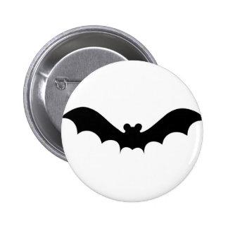 Halloween Bat 6 Cm Round Badge
