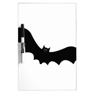 Halloween Bat Dry Erase Board