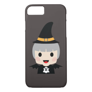 Halloween Bat Girl iPhone 8/7 Case