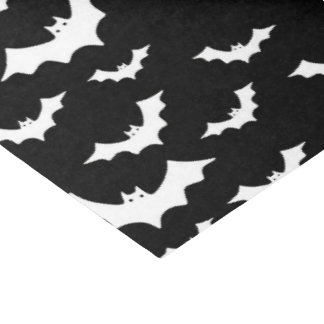 Halloween bat Holiday party tissue paper tiled