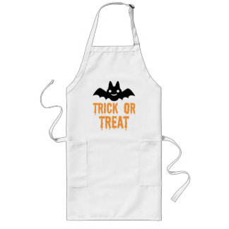 Halloween Bat Long Apron