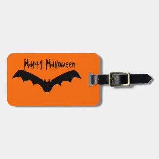 Halloween Bat Luggage Tag