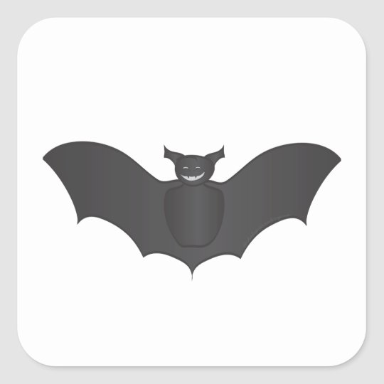 Halloween Bat Sticker