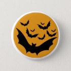 Halloween Bats 6 Cm Round Badge