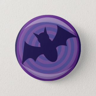 Halloween Bats 6 Cm Round Badge