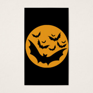 Halloween Bats Business Card
