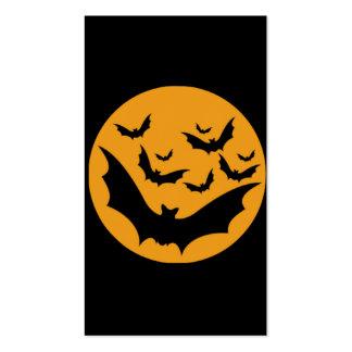 Halloween Bats Business Card Templates