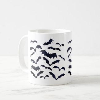 Halloween Bats Flyiing In The Night Sky Coffee Mug