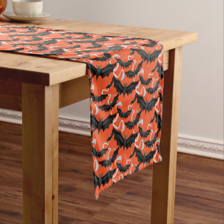Halloween Bats Table Runner