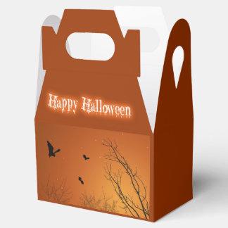 Halloween Bats & Trees - Gable Favor Box