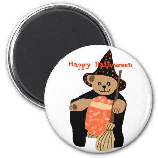 Halloween Bear, Happy Halloween magnet