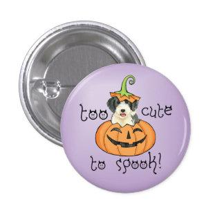 Halloween Beardie 3 Cm Round Badge