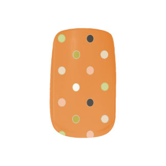 Halloween beauty trick nail art