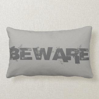 Halloween Beware Lumbar Cushion