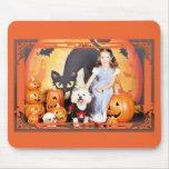 Halloween - Bichon Frise - Andi Mouse Mats