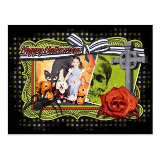 Halloween - Bichon Frise - Andi Postcard
