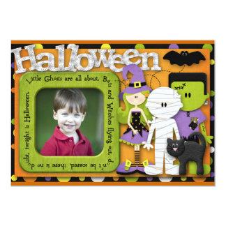 Halloween Birthday 13 Cm X 18 Cm Invitation Card