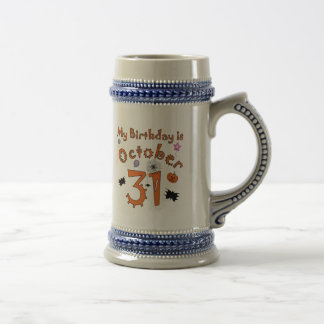 Halloween Birthday October 31st Coffee Mugs