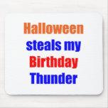 Halloween Birthday Thunder Mousemats