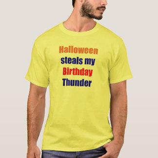 Halloween Birthday Thunder T-Shirt