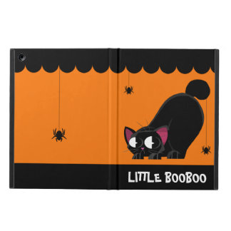 Halloween Black Cat and Spider iPad Air Case