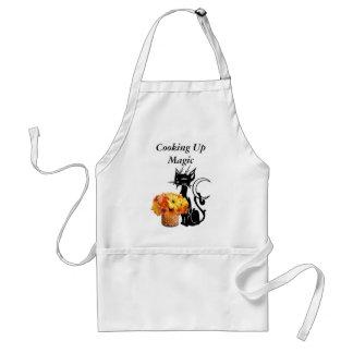 Halloween Black Cat Standard Apron