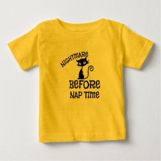 Halloween Black Cat  Baby Fine Jersey T-Shirt