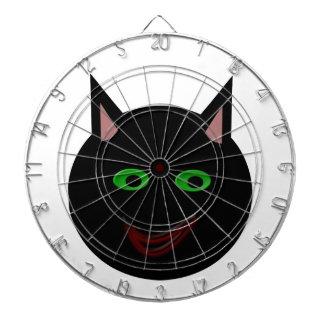 Halloween Black Cat Dart Board