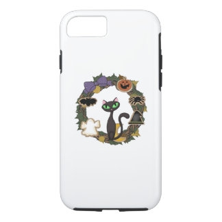 Halloween Black Cat iPhone 8/7 Case