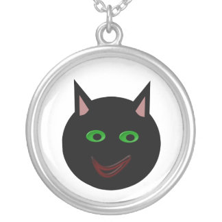 Halloween Black Cat Necklace