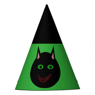 Halloween Black Cat Party Hat