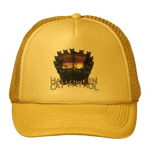 Halloween Black Cat Patrol Hats