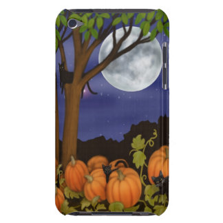 Halloween Black Cats in Pumpkin Patch Speck Case Barely There iPod Case